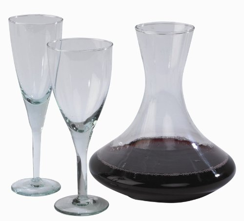 Ecoware 100% Recycled Glass Decanter 19 x 21.5 cm