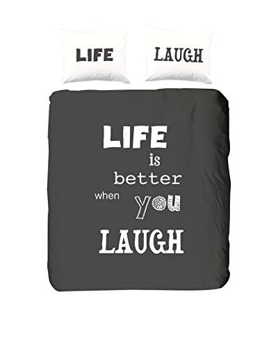 Good Morning dekbed en kussensloop Laugh