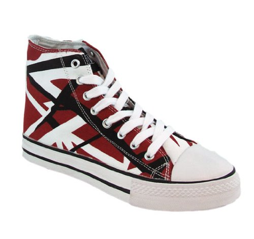 2079718ebd High Top Shoes BestDiscount  Eddie Van Halen (EVH) Red
