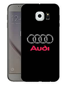 "Humor Gang Supercar Black Printed Designer Mobile Back Cover For ""Samsung Galaxy S6"" (3D, Matte, Premium Quality Snap On Case)..."