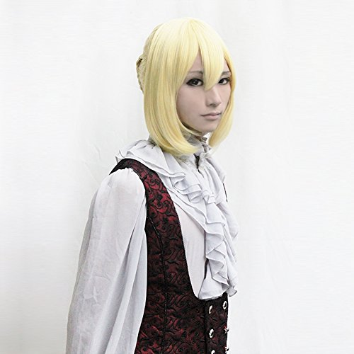 fate-zero-altria-pendragon-saber-light-gold-party-cosplay-costume-wig-wig-cap