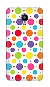SWAG my CASE PRINTED BACK COVER FOR MEIZU M2 Multicolor