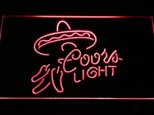 coors-light-bier-led-zeichen-werbung-neonschild-rot