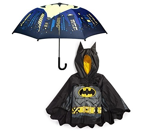 Western Chief Batman Rain Coat With Umbrella (6)