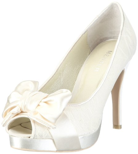 Menbur Wedding Women's Amis Ivory Bridal 04613X804 5 UK
