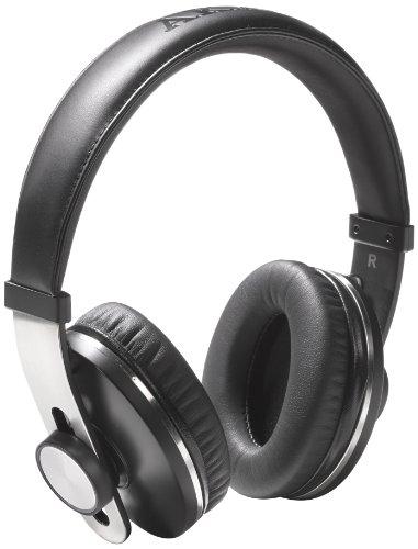 Akai - Cuffie Bluetooth AHP100 4.0 con funzione telefono, colore: nero