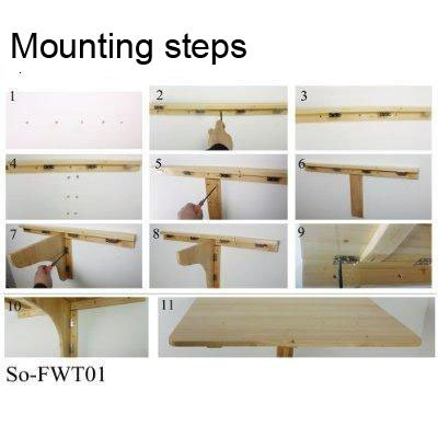 How To Build A Wall Mounted Drop Leaf Table