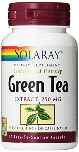 Solaray Green Tea Extract Supplement, 250mg, 30 Count (Solaray Green Tea Extract compare prices)