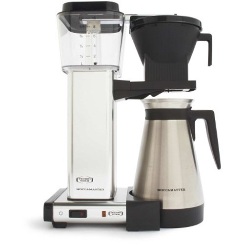Moccamaster Kbgt 10 Cup Coffee Brewer With Thermal Carafe