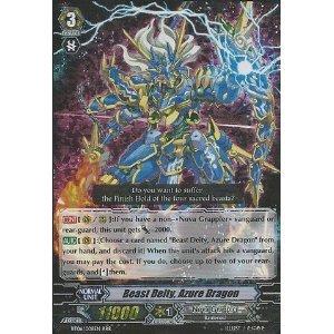 Amazon.com: Cardfight!! Vanguard TCG - Beast Deity, Azure Dragon (BT06