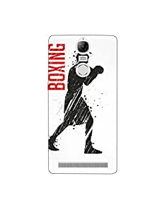 Lenovo K5 Note nkt01 (47) Mobile Case by Mott2 - Boxin Day - Lets Fight (Limited Time Offers,Please Check the Details Below)