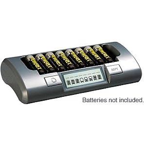 充电器海淘:PowerEx智能充电器 MH-C800S 适用5号7号 八通道高端货