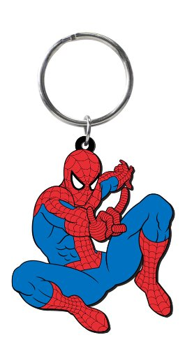 Marvel 68031 Spider-Man Soft Touch PVC Key Ring - 1