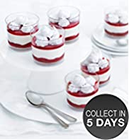 6 Mini Eton Mess Pots