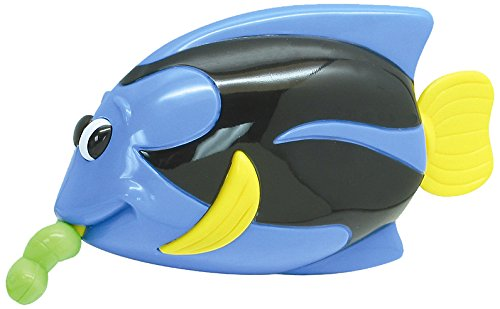 Navystar Pull String Bath Buddies - Blue Hippo Tang Fish Baby Toy - 1