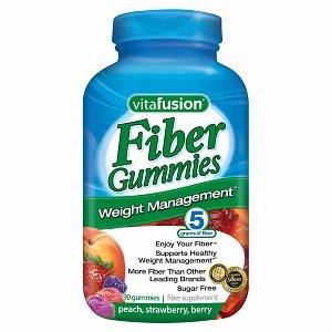 Vitafusion Fiber Well Weight Management Gummies, 220 Gummies