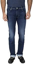 EASIES Men's Slim Fit Jeans (1084 Bndft Vgind_32, Blue, 32)