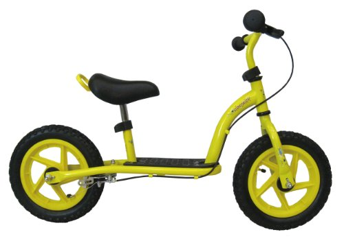 Concept Boy's Little Rocket Scooter Balance Bike - Yellow