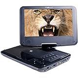 "Nevir NVR-2780 - DVD portátil de 9"", LCD, USB, lector SD"