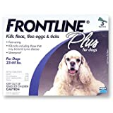 Frontline Plus for Dogs 23-44 lbs 3 Month, 1.34 mL
