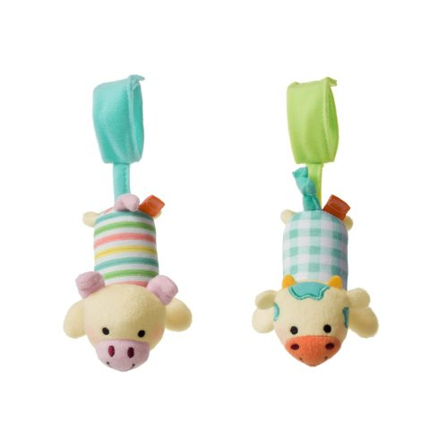 Amazing infantino Cow and Pig Tag-Along Chimes