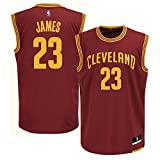 LeBron James Cleveland Cavaliers NBA Toddler Red Road Replica Jersey (Toddler 2T)