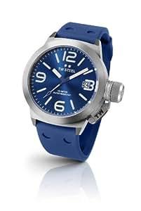 TW Steel Damen-Armbanduhr XL Canteen Style Analog Quarz Edelstahl TW-500