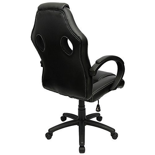 Tremendous Furmax Gaming Chair High Back Pu Leather Computer Chair Ergonomic Racing Chair Desk Chair Swivel Executive Office Chair Headrest And Lumbar Support Ncnpc Chair Design For Home Ncnpcorg
