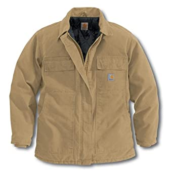 Women's Carhartt® Sandstone Traditional Jacket with Arctic Quilt Lining, CAMEL, 2XL