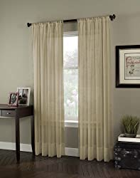 Soho Voile Lightweight Sheer Curtain Panel