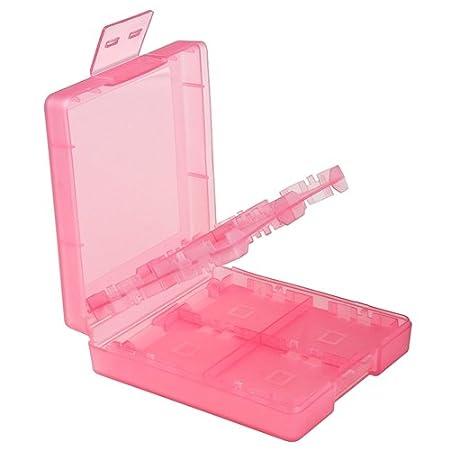 eForCity Nintendo DS / DS Lite / DSi / DSi LL / XL Game Card Case 16-in-1, Light Coral