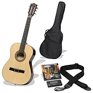 Burswood 34-Inch Guitar Complete Package