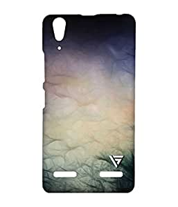 Vogueshell Black Wind Abstract Printed Symmetry PRO Series Hard Back Case for Lenovo A6000