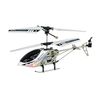 iPilot ラジコンヘリコプター ≪ iPhone 、 iPad 、 iPod Touchで操作可能!!≫ ホワイト&シルバー
