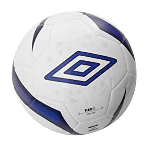 Umbro Neo Neo Trainer Football  - White / Blue Depths / Silver, 5
