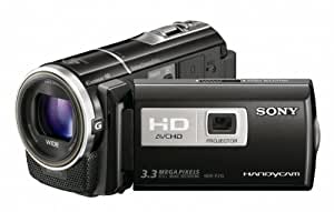 Sony HDR-PJ10 High Definition Handycam Camcorder with Built-in Projector (Black)