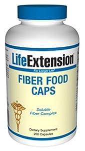 Life Extension Fiber Food Caps, 200 capsules