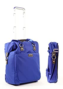 18 inch two-wheeled tote