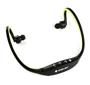 Best the Green Sport Wireless Earphones Headphones Music Mp3 Player Tf Card Fm Radio Headset