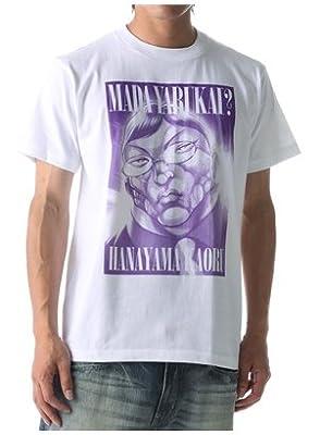 【ノンブランド】グラップラー刃牙×Right-on 花山薫『まだやるかい?』Tシャツ オンラインショップ限定