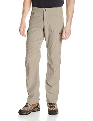 Columbia Men's Silver Ridge Stretch Convertible Pants, Tusk, 32 x 30 (Columbia Zip Off Pants compare prices)