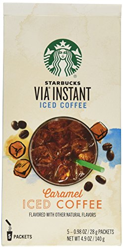 Starbucks Via Ready Brew Iced Caramel Flavored Coffee 5 Pk (Starbucks Iced Caramel Coffee compare prices)