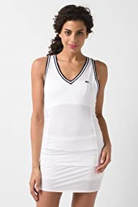 Technical Pique Mixed Mesh Tank Top