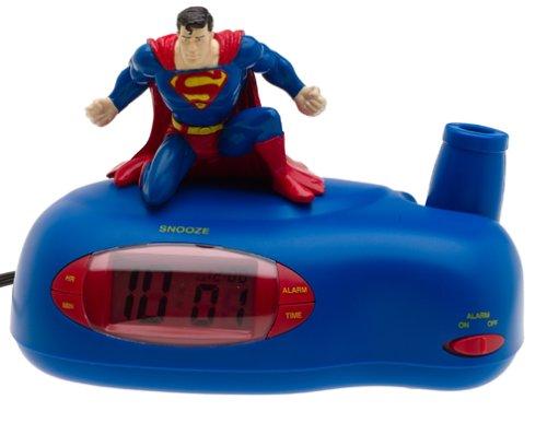 Superman Projection Alarm Clock Findgift Com