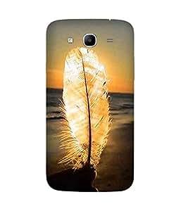 Sun Kisses Feather Samsung Galaxy Mega 5.8 Case