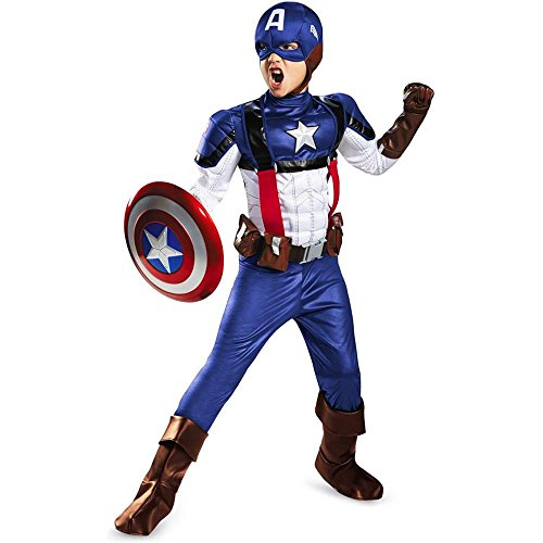 Captain America Retro Prestige Kids Costume