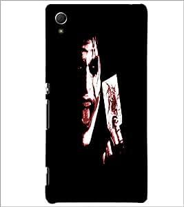 PrintDhaba Joker D-4849 Back Case Cover for SONY XPERIA Z4 (Multi-Coloured)