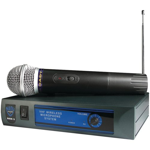 Nady Dkw-3 Ht/B Vhf Single Receiver Handheld Microphone System