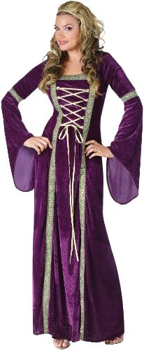 Fun World Costumes Funworld Deluxe Renaissance Lady, Purple, Small/Medium 2-8