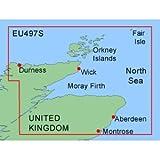 Garmin Bluechart XEU497S Orkneys & Moray Firth - Micro SD